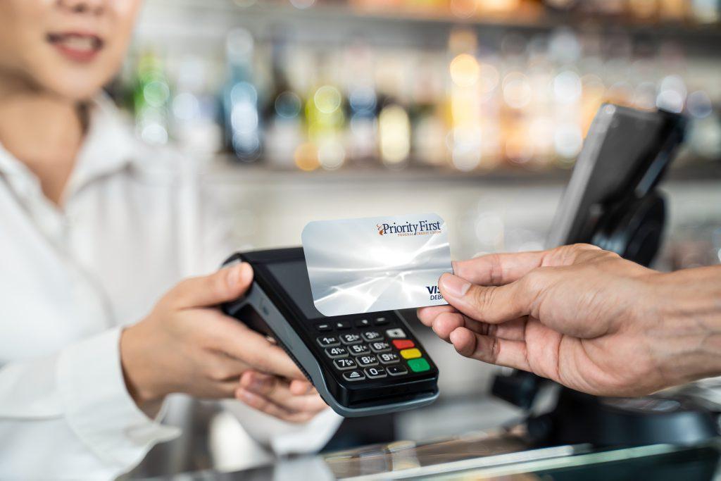 Debit Card at Checkout